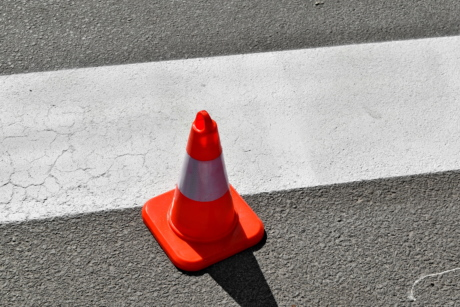 traffic control, asphalt, street, road, pavement, traffic, concrete, empty