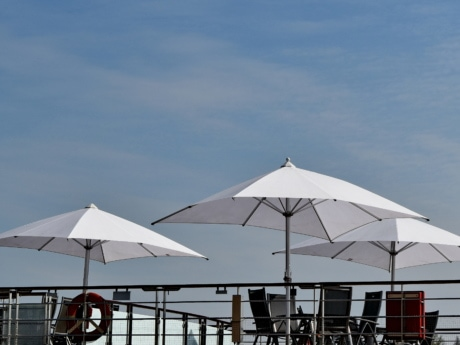 daylight, furniture, parasol, outdoors, vehicle, architecture, competition, vacation