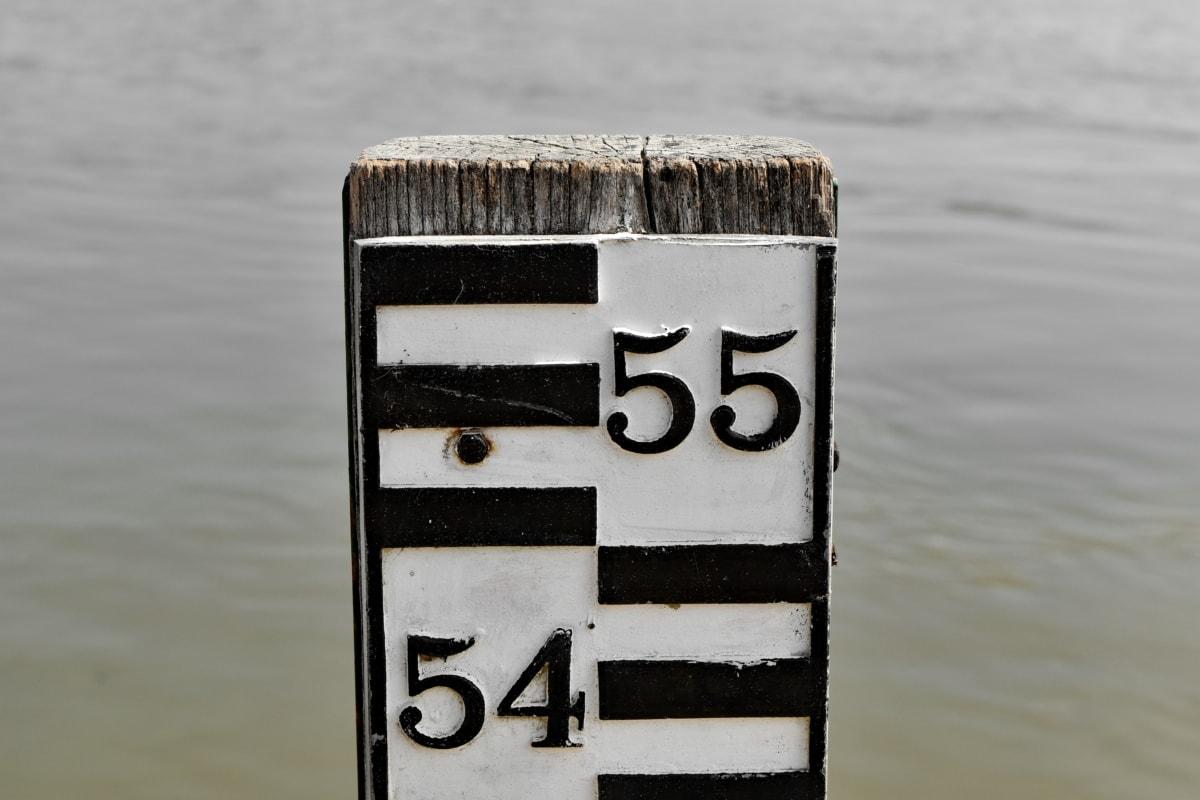 meranie, meranie, znamenie, voda, drevo, príroda, vonku, reflexie