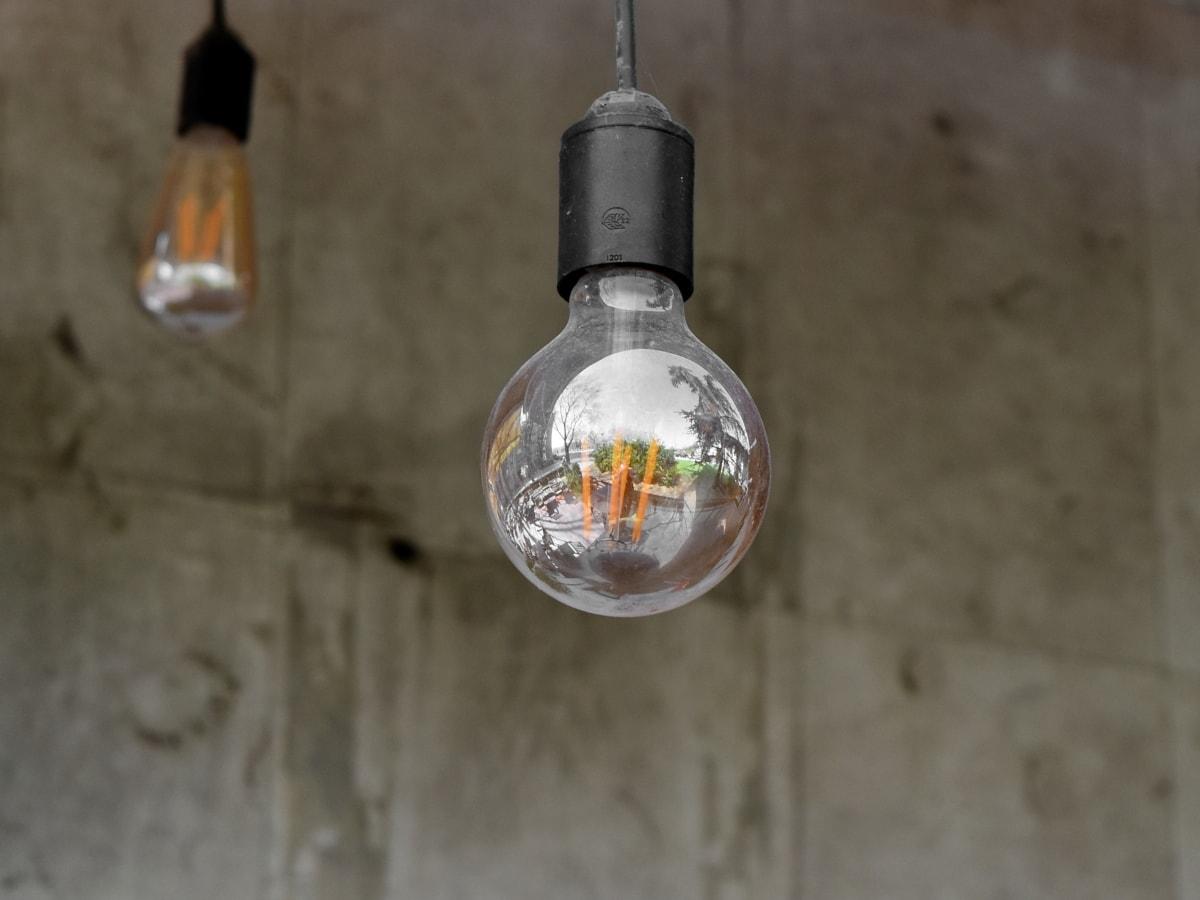sisustus, lamppu, lamppu, lasi, sisätiloissa, sähkön, valo, asetelma