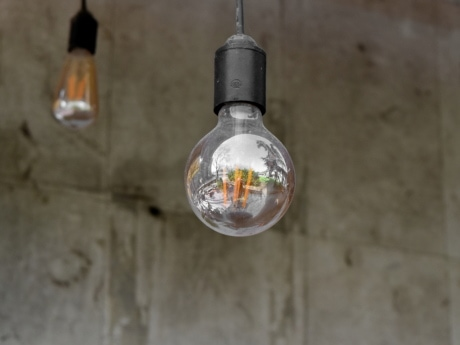 decoration, light bulb, bulb, glass, indoors, electricity, light, still life