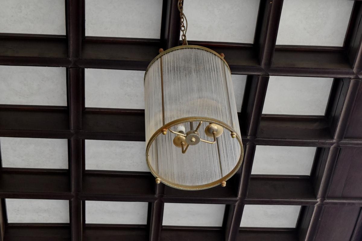 διακόσμηση, λάμπα, συσκευή, σε εσωτερικούς χώρους, ξύλο, αρχιτεκτονική, τοίχου, παλιά