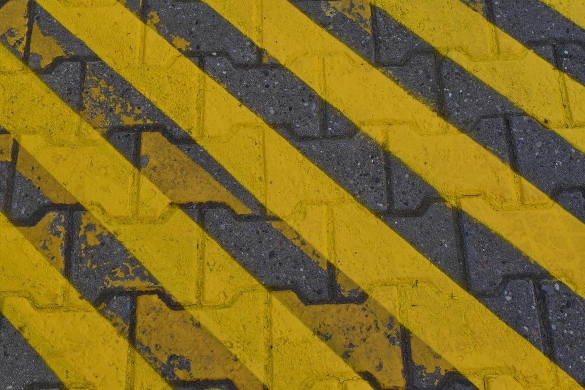 asfalt, tekstura, stari, prljavi, uzorak, grubo, kolnika, urbano