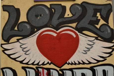 graffiti, romance, romantic, text, design, texture, retro, symbol
