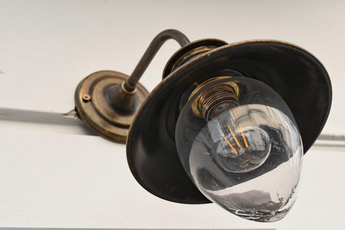 lamp, light bulb, equipment, device, still life, steel, technology, vintage
