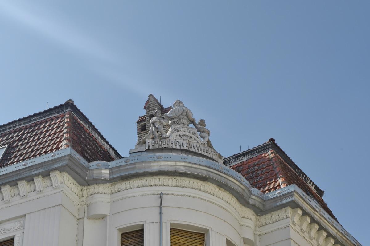 дворец, архитектура, забележителност, сграда, на открито, град, дневна светлина, покрив
