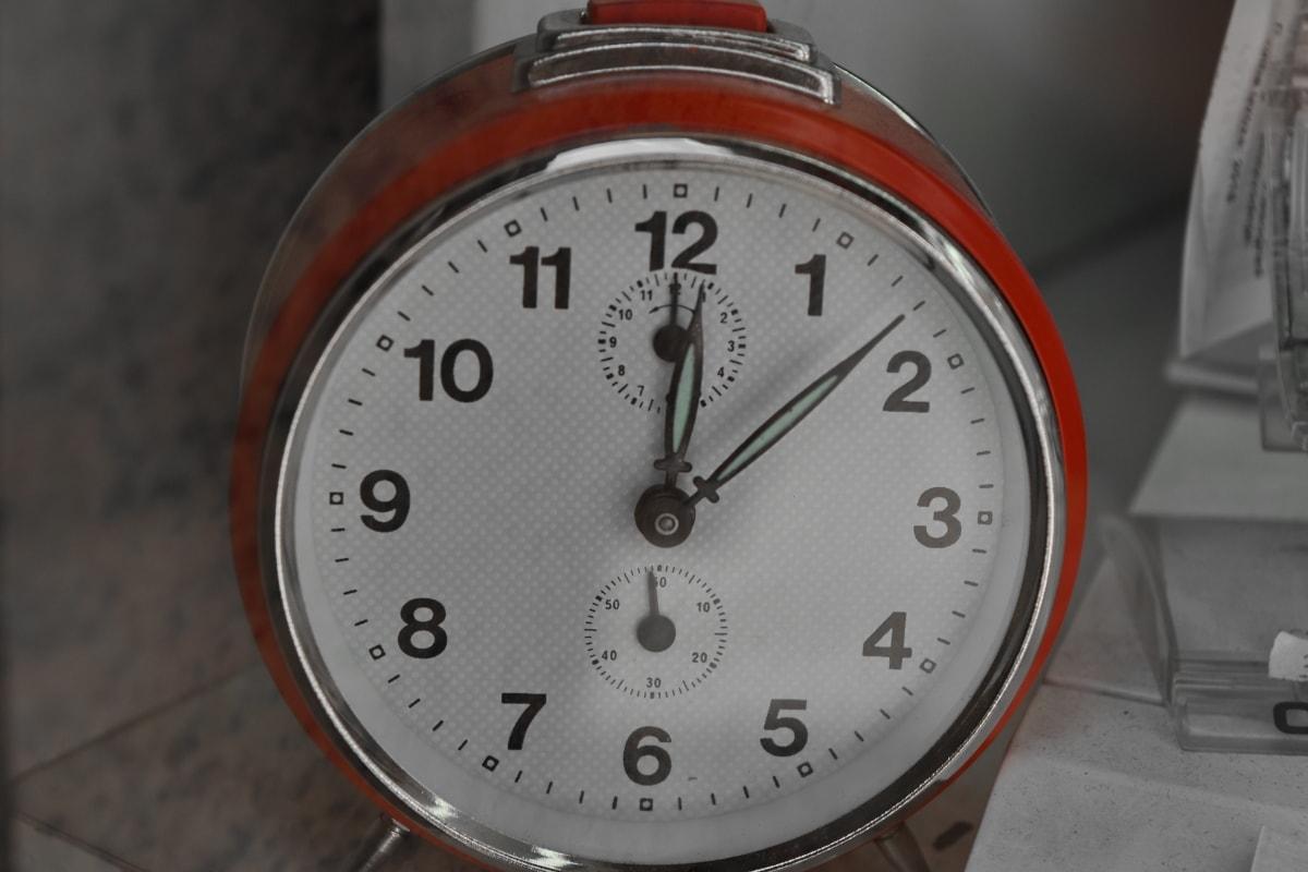 นาฬิกาปลุก, นาฬิกา, นาที, นาฬิกา, เวลา, ความแม่นยำ, จับเวลา, อนาล็อก