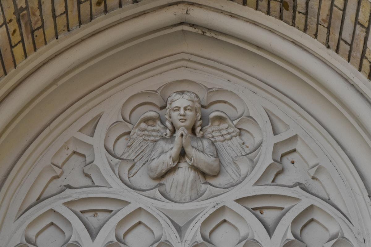 แองเจิล, สวดมนต์, ปีก, สถาปัตยกรรม, ศิลปะ, คริสตจักร, ประติมากรรม, ศาสนา