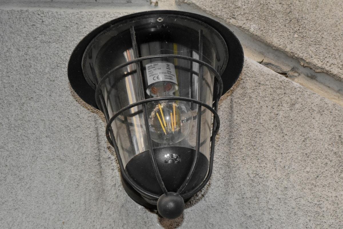 lamppu, laitteen, lamppu, vanha, lamppu, sähkön, vuosikerta, laitteet
