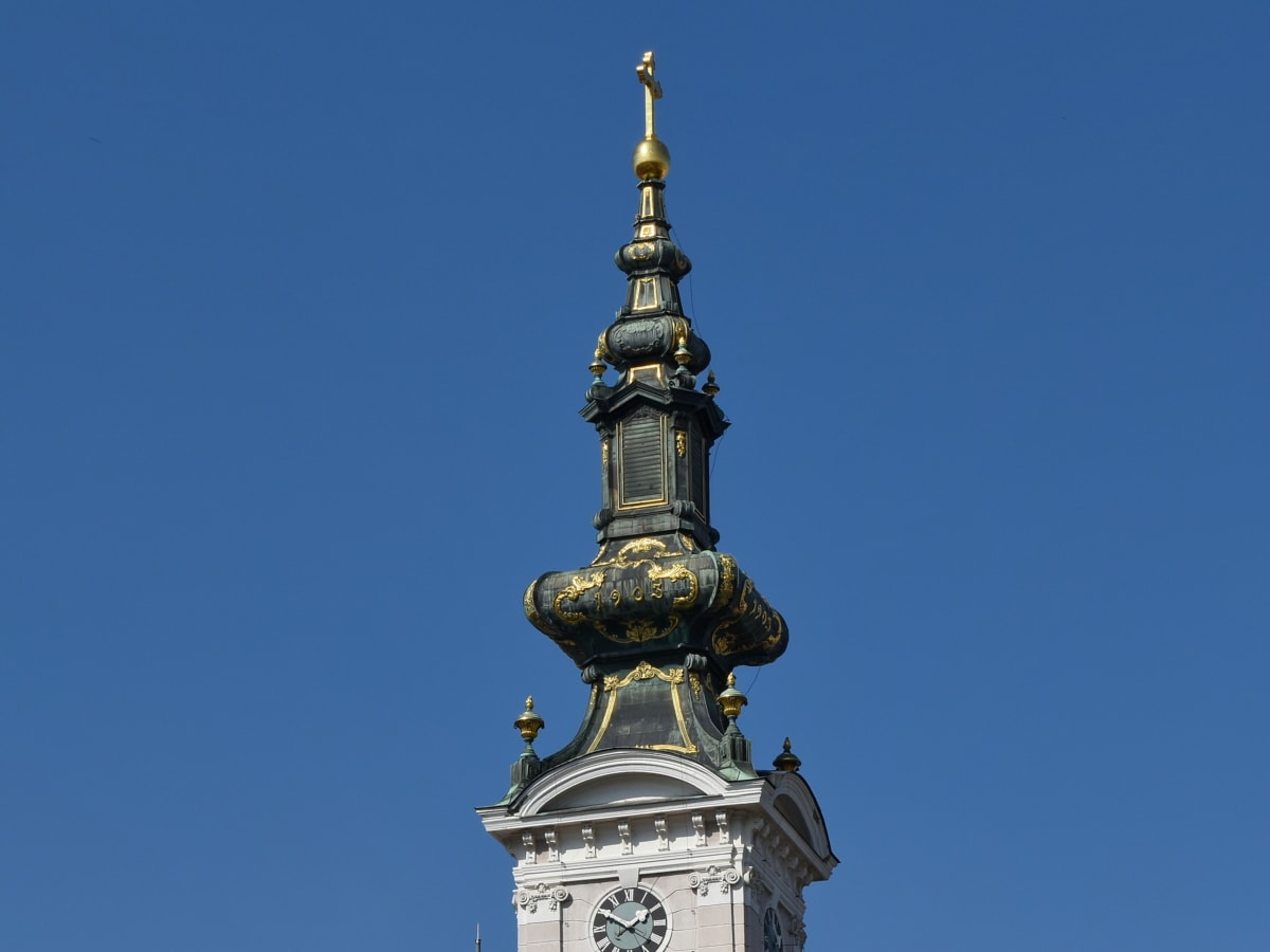architecture, device, building, outdoors, tower, old, ancient, statue