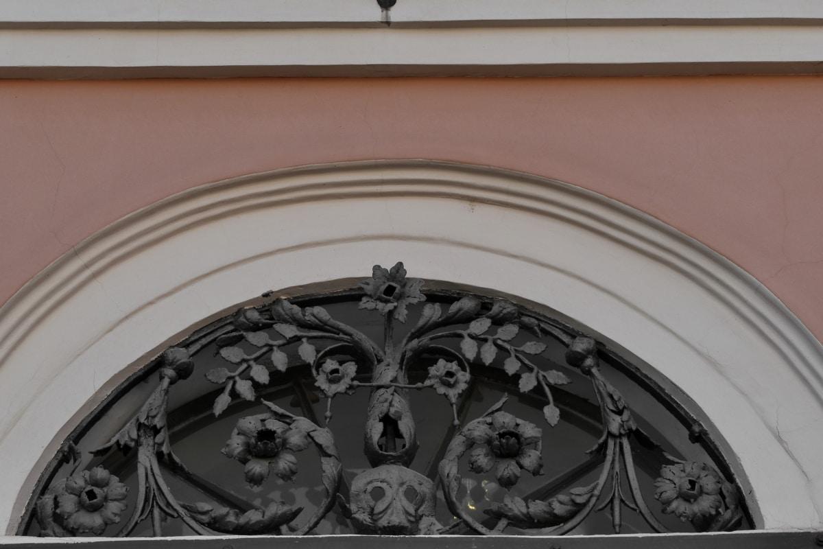 window, framework, architecture, building, art, decoration, design, old