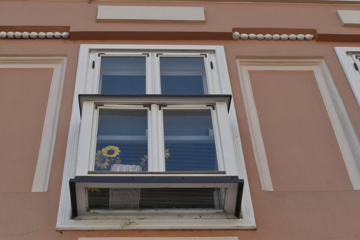 декорация, жилищни, Прозорец, архитектура, сграда, къща, Домашно огнище, стена