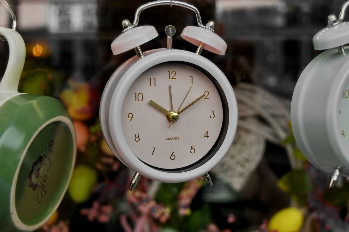 аларма, час, време, аналогов часовник, минута, часовник, традиционни, Аналогови