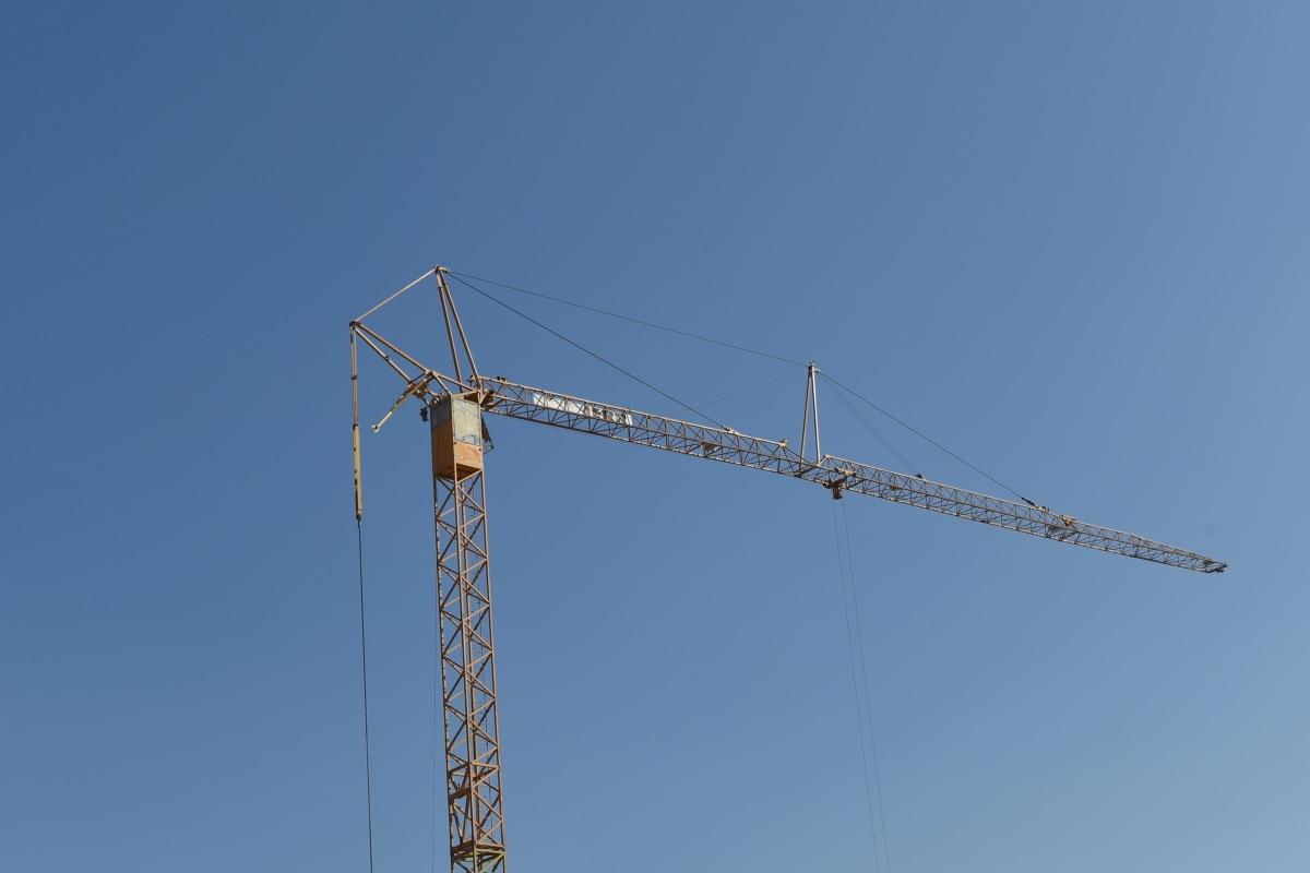 промислові, промисловість, будівництво, пристрій, сталі, висока, на відкритому повітрі, залізо