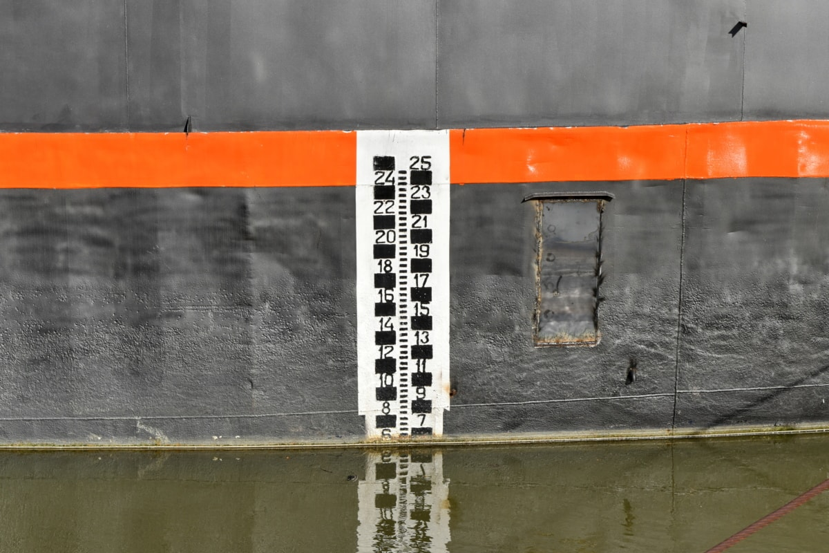 flood, level, ship, water, texture, symbol, dirty, urban