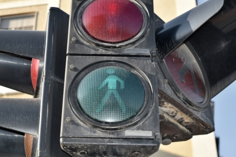 traffic control, traffic light, traffic, semaphore, equipment, control, safety, old