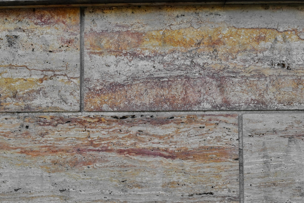 marble, pattern, dirty, construction, wall, exterior, old, rough