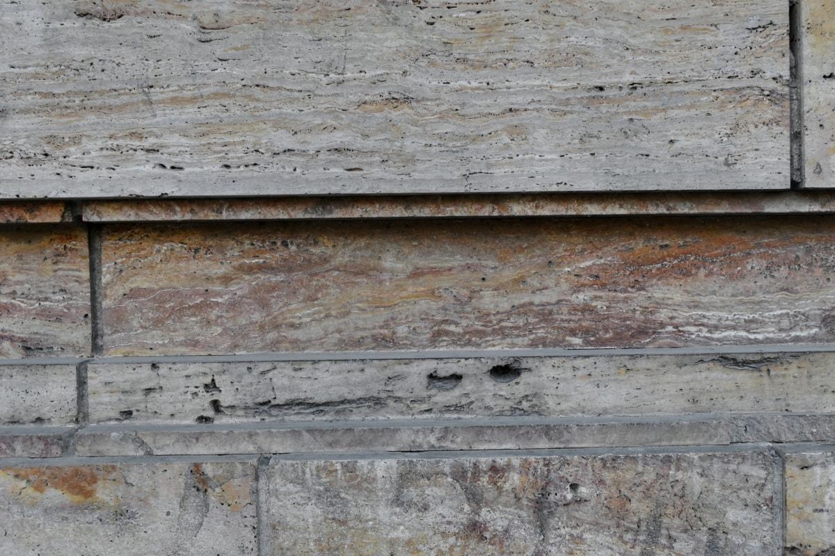 мрамор, стена, повърхност, стар, мръсни, строителство, текстура, екстериор