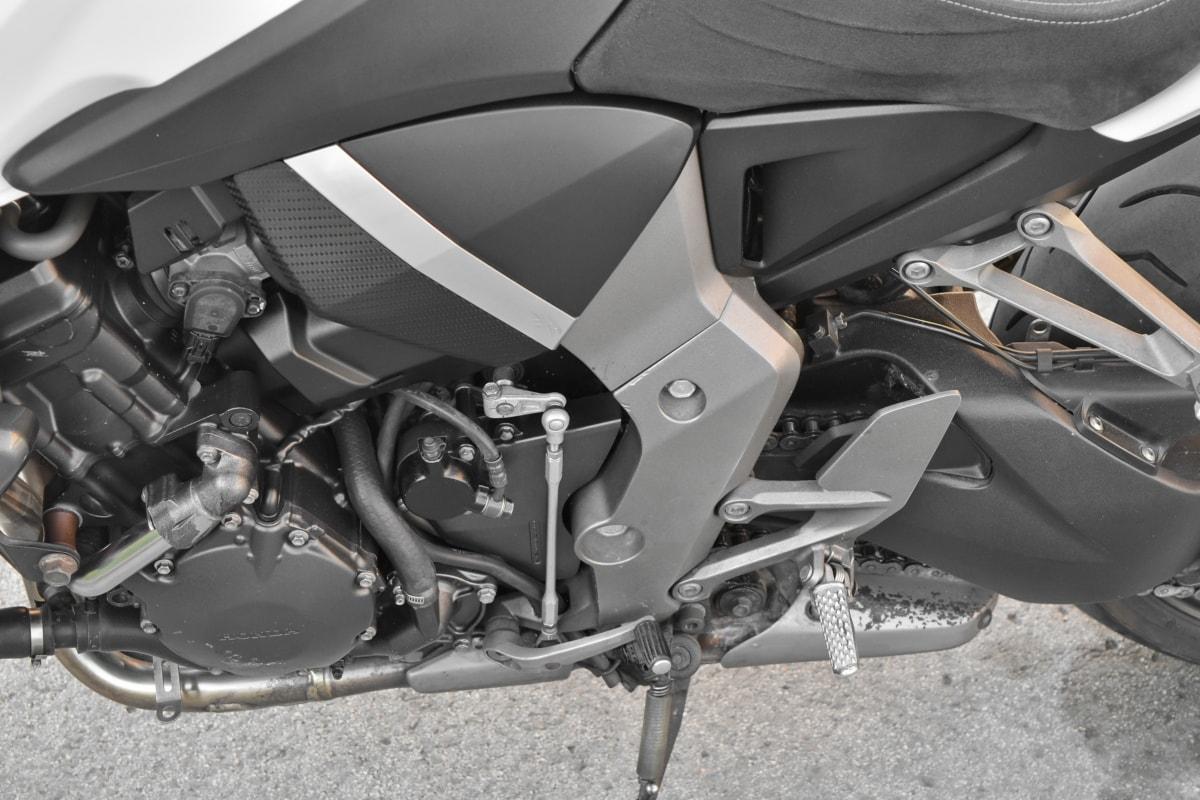 motorcycle, wheel, seat, transportation, car, vehicle, bike, chrome