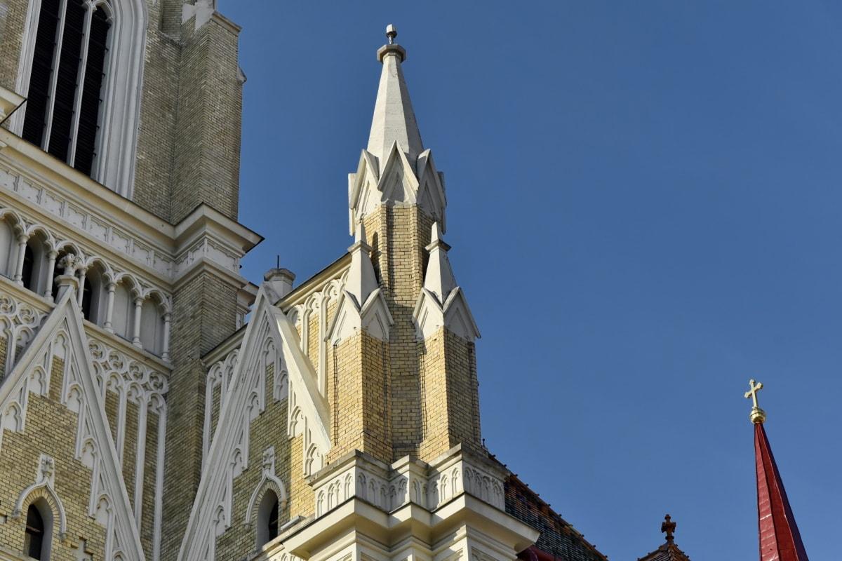 Καθεδρικός Ναός, αρχιτεκτονική, κτίριο, θρησκεία, Εκκλησία, Πύργος, πόλη, σε εξωτερικούς χώρους
