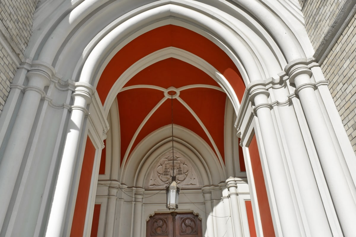arch, gothic, religion, church, cathedral, building, architecture, column