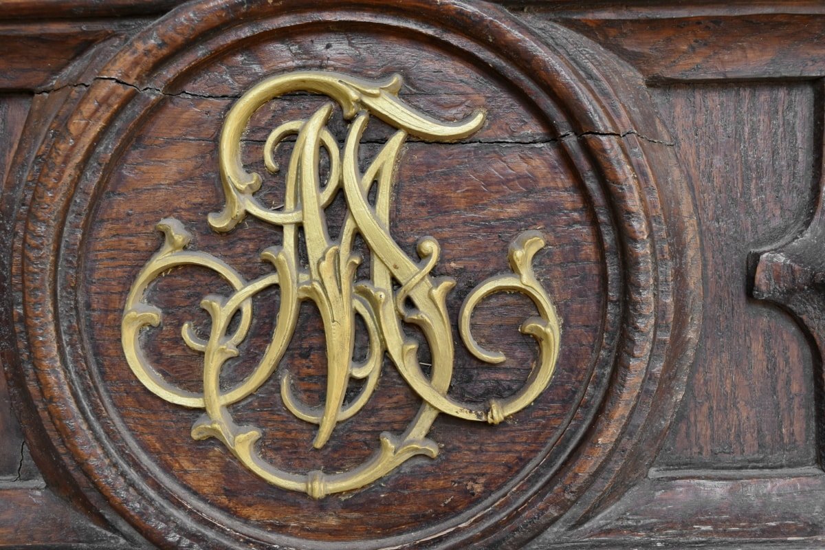 carvings, symbol, teak wood, old, wood, wooden, architecture, decoration