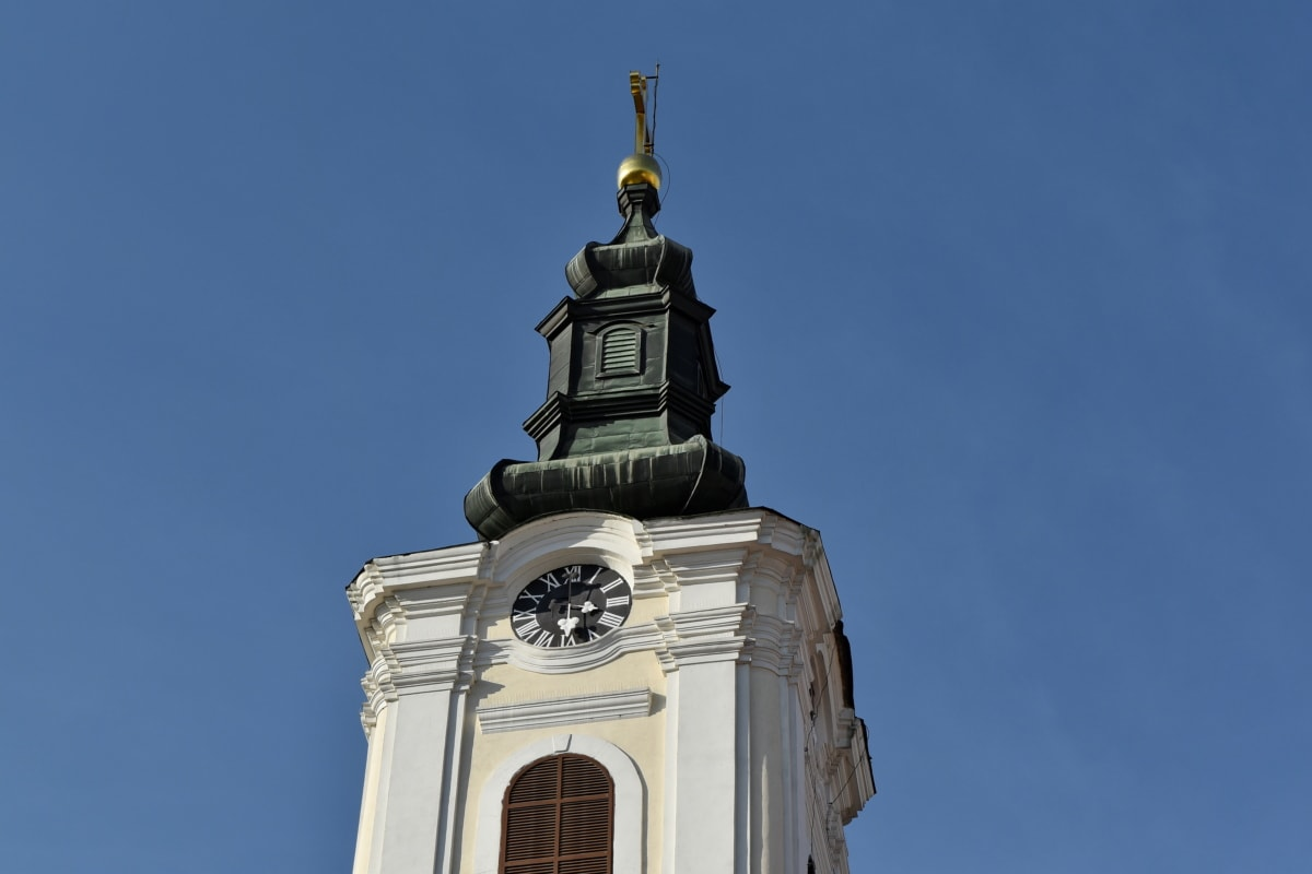tower, building, architecture, church, religion, outdoors, old, city