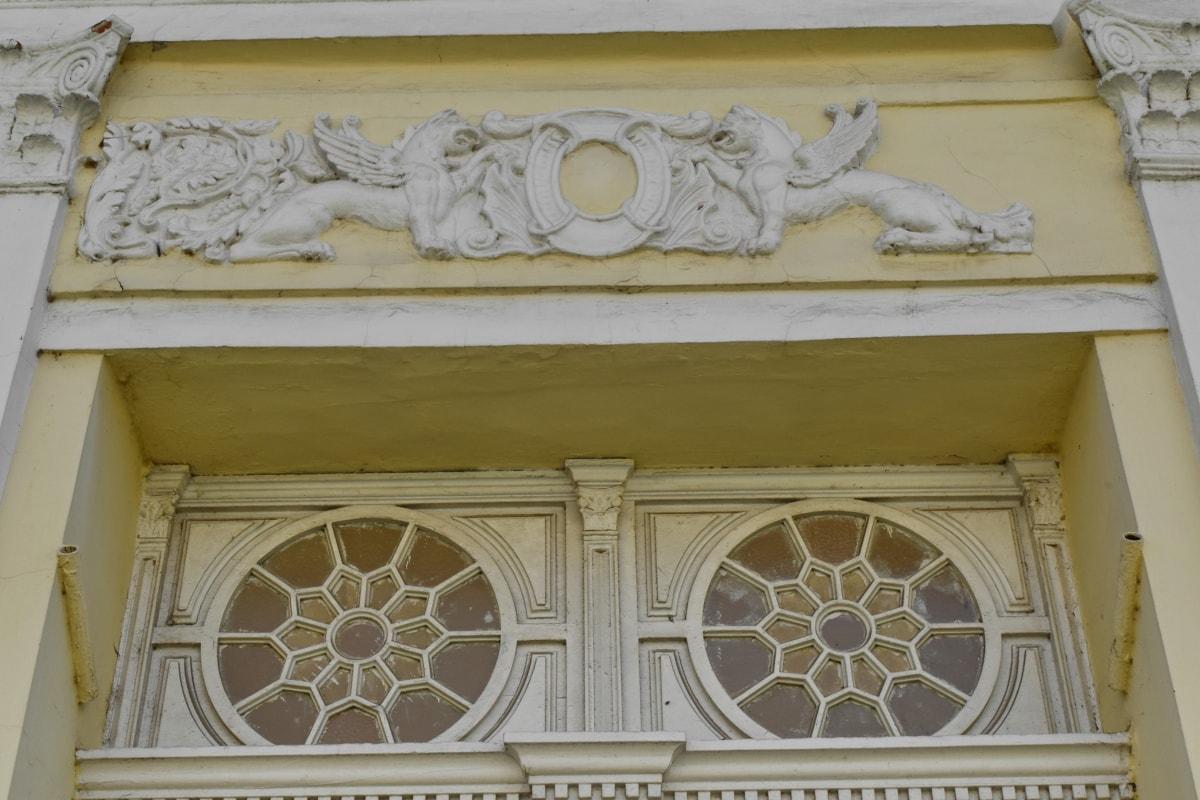 barok, ulaz, pristupnik, Victorian, arhitektura, zgrada, dekoracija, kuća