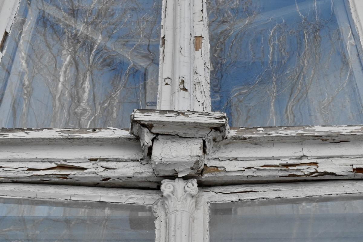 cam, yansıma, şeffaf, pencere, yapısı, mimari, eski, açık havada
