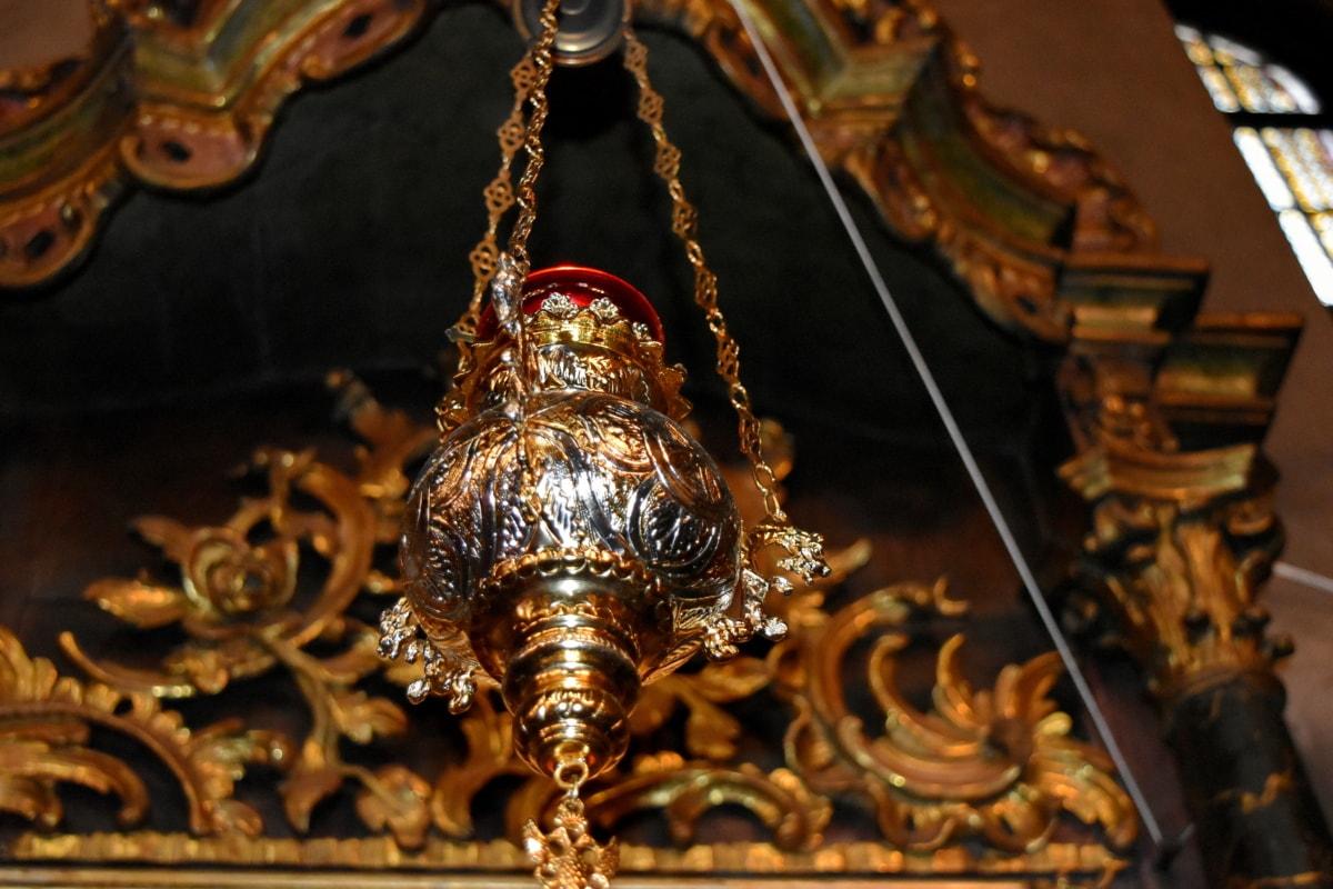 hram, religija, zlato, drevno, starinsko, skulptura, dekoracija, stari