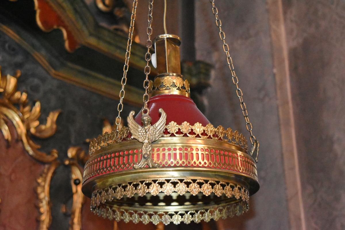 tempat lilin, lampu, dekorasi, agama, kuno, tradisional, seni, mewah