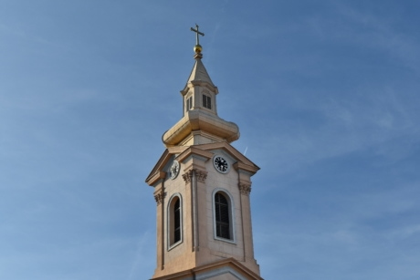 architectural style, church tower, fair weather, spirituality, building, architecture, church, religion