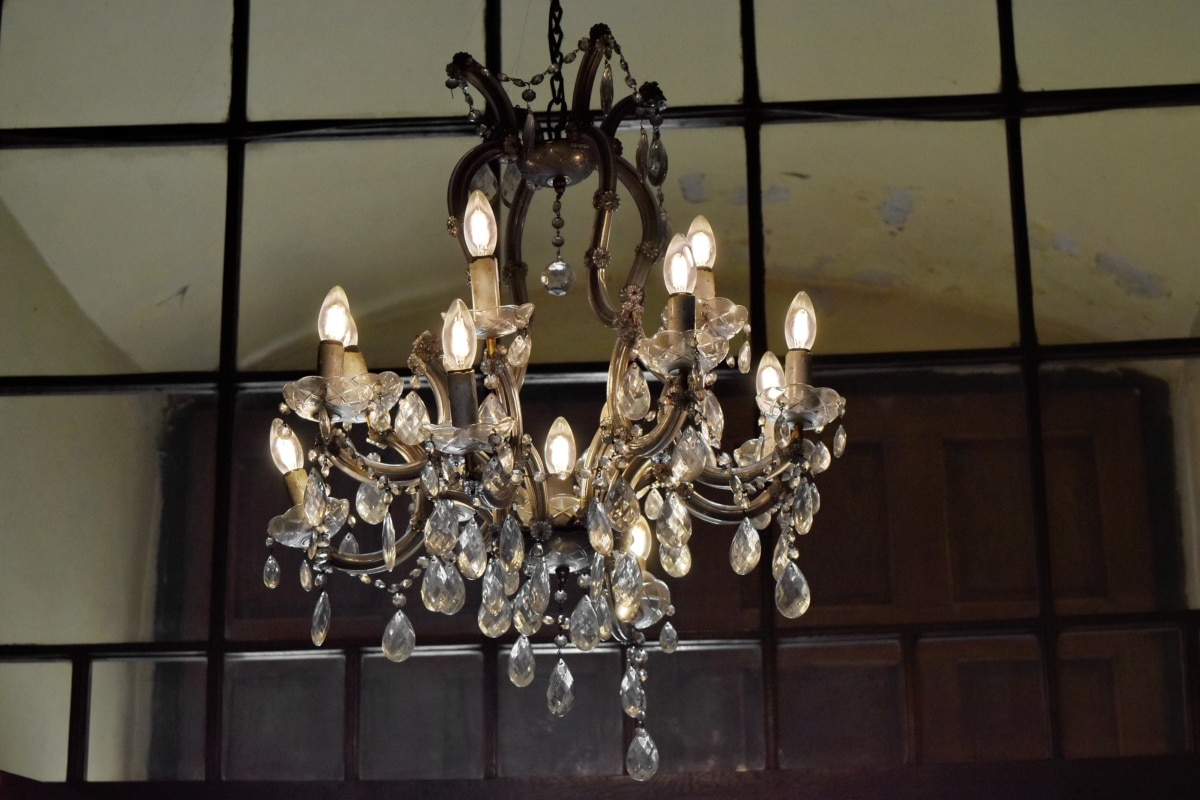 lampa, candelabru, lux, decor, în interior, interior design, Antique, Muzeul