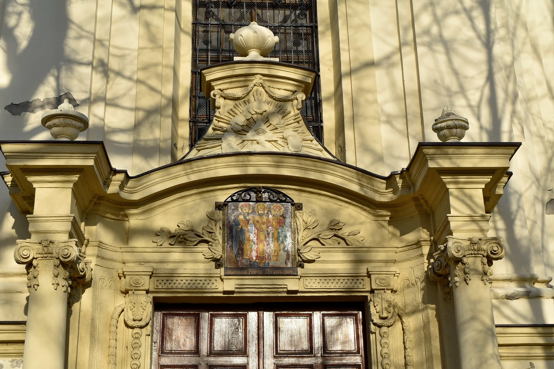 Bizantium, pintu depan, biara, Gereja, struktur, Katedral, agama, bangunan