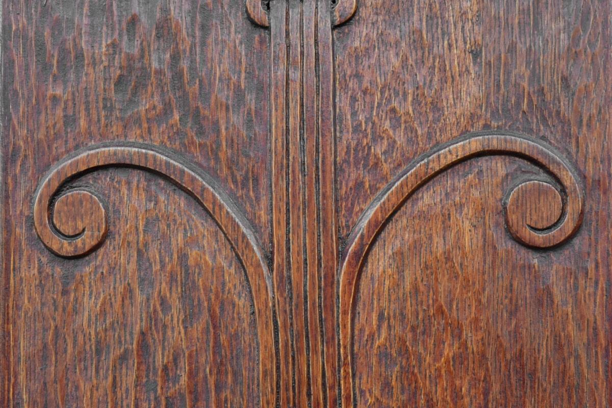 Ξυλουργικές εργασίες, μασίφ ξύλο, Δρυς, ξύλο, ξύλινα, υλικό, παλιά, τοίχου