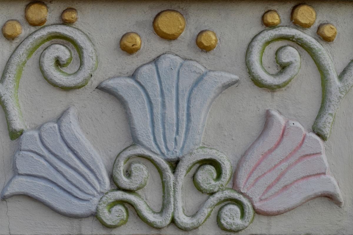 décoration, conception, forme, texture, modèle, art, traditionnel, luxe