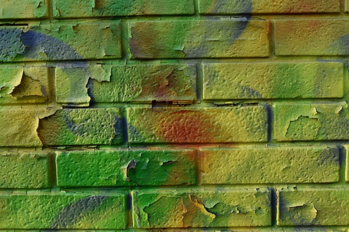 trama, passo, mattone, vecchio, parete, modello, carta da parati, costruzione