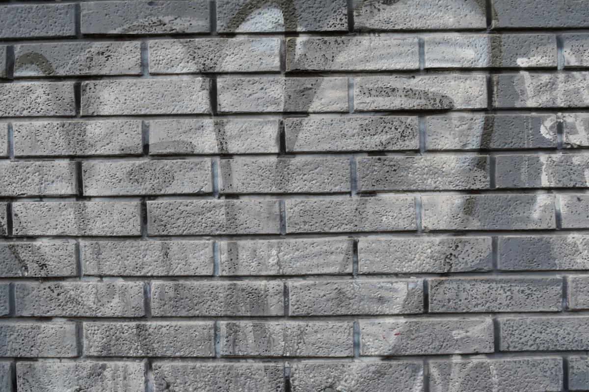 preto e branco, grafite, preto e branco, padrão, parede, textura, pedra, cimento