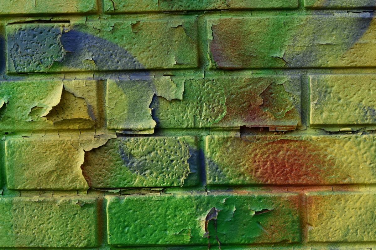 lama, batu bata, permukaan, bangunan, dinding, tekstur, pola, kertas dinding