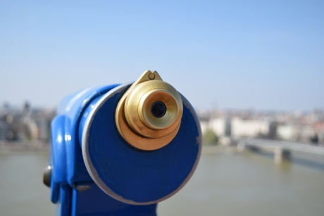 panorama, telescope, tourist attraction, city, lens, outdoors, technology, street