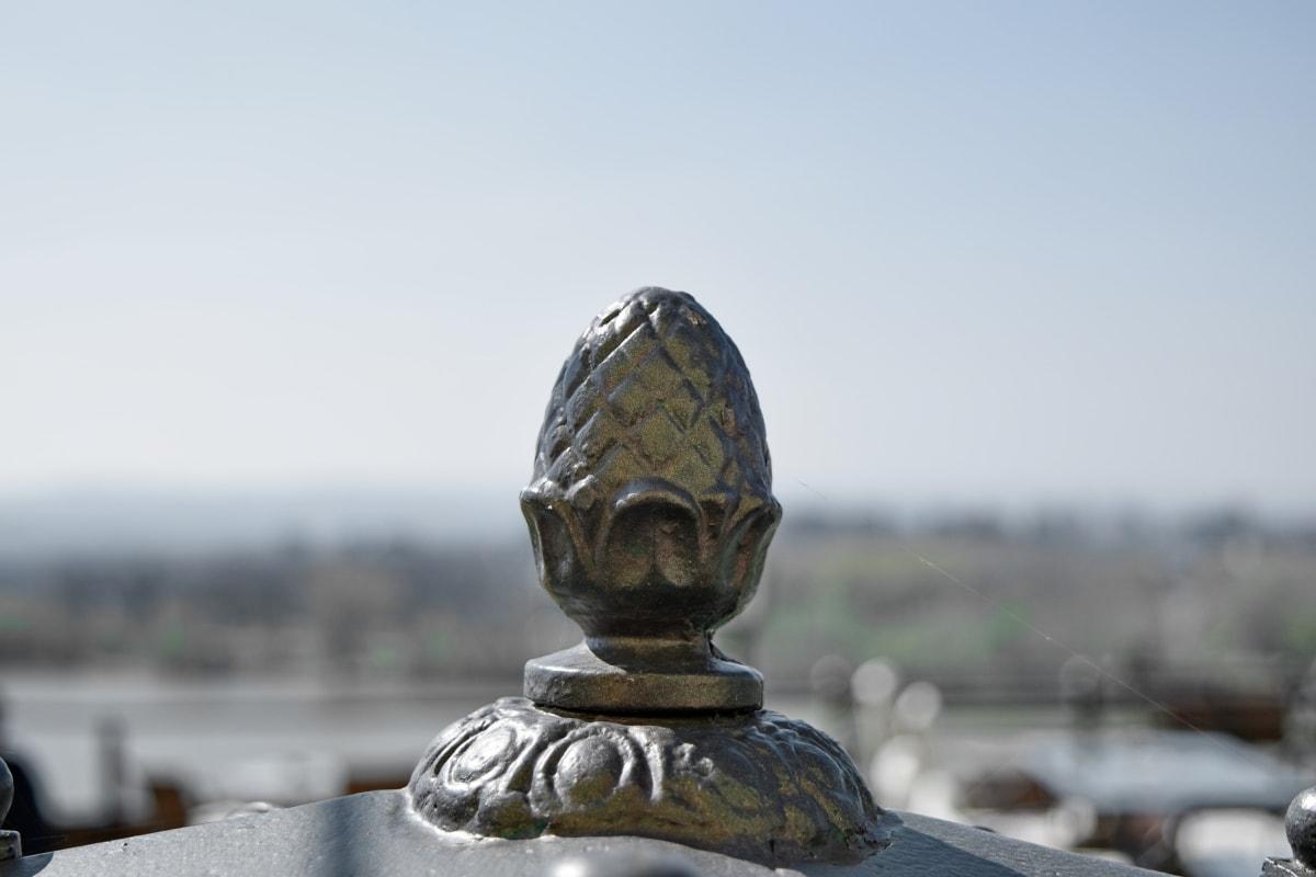 сплав, Чавун, метал, скульптура, Статуя, Структура, на відкритому повітрі, природа