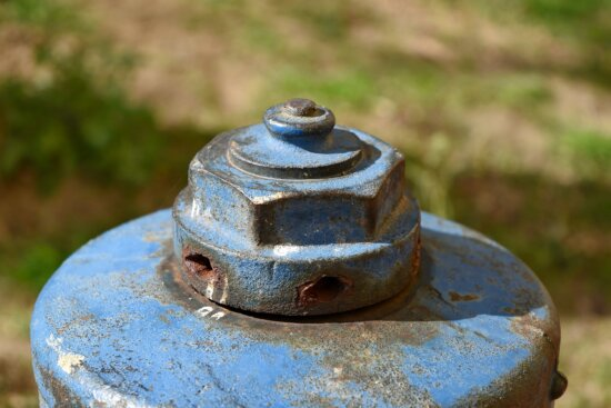 hydrant, old, rust, vintage, container, art, garden, upclose