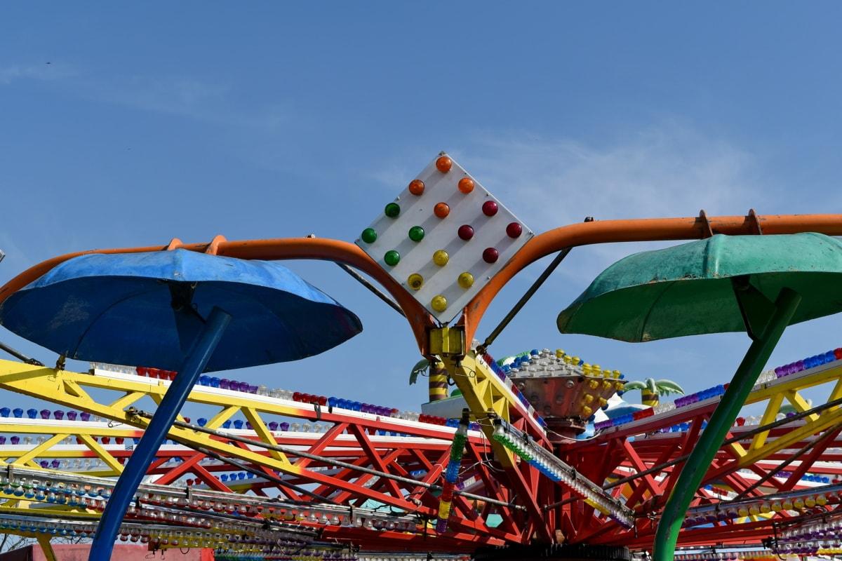 Karnawał, Rozrywka, Karuzela, zabawa, aktywny wypoczynek, Rekreacja, Festiwal, Coaster