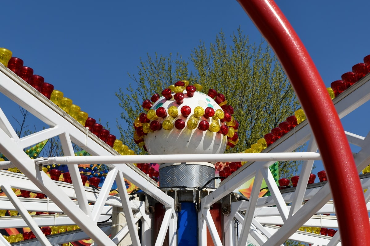 строителство, Карнавал, Въртележката, парк, развлечения, забавно, фестивал, веселие