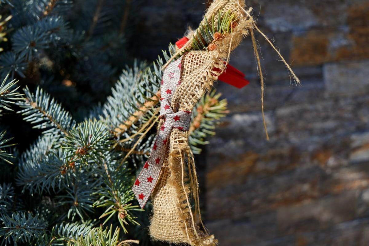 träd, vinter, jul, naturen, dekoration, Utomhus, trä, firande