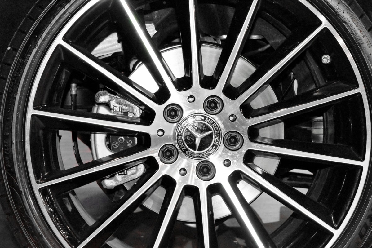 rim, vehicle, wheel, tire, device, car, chrome, bike
