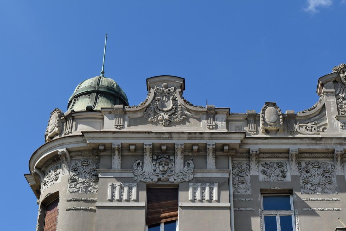 αρχιτεκτονική, Παλάτι, στέγη, Θόλος, κατοικία, κτίριο, παλιά, πόλη