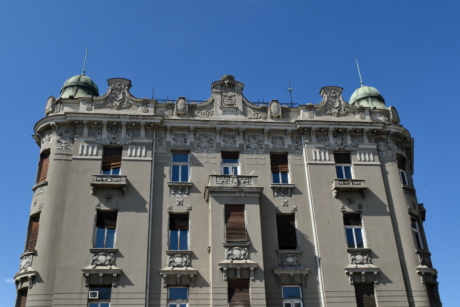 facade, city, palace, building, architecture, outdoors, old, landmark