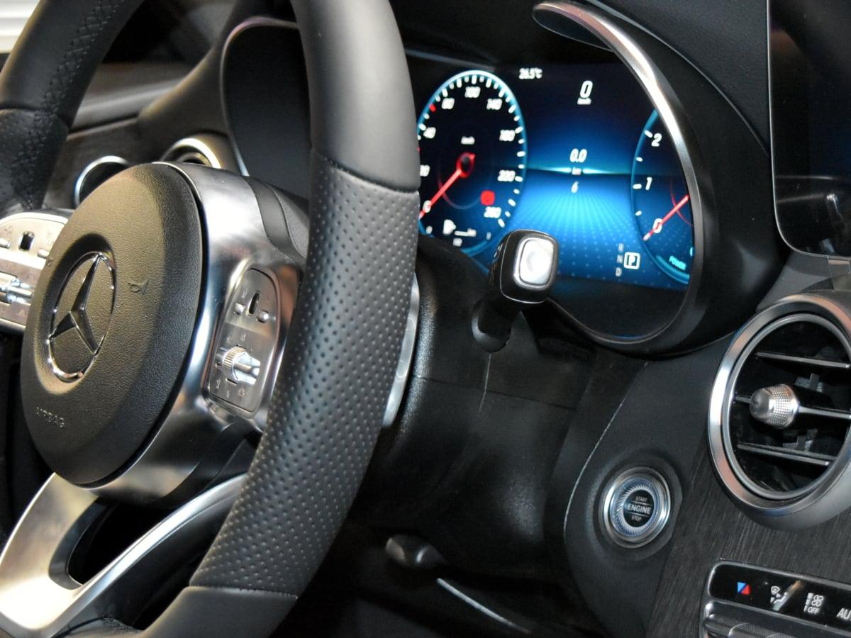 vehicle, dashboard, speedometer, steering wheel, drive, car, speed, gearshift