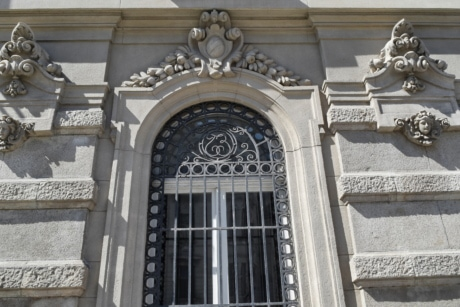 capital city, cast iron, window, architecture, old, building, facade, sculpture
